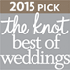 2015 Pick, the knot best of weddings