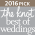 2016 Pick, the knot best of weddings